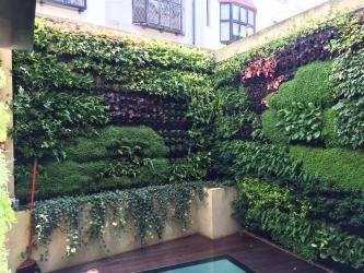 Live Panel van Mobilane een living wall systeem om planten op een muur te brengen