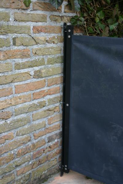 seguroll aansluiting aan muur slot