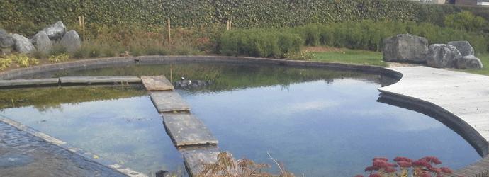 zwemvijver aanleggen zwemvijverfilter met terras